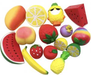 Balle anti-stress fruits