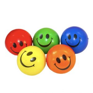 Balle anti stress Smiley